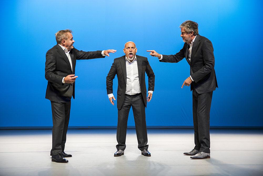 De Verleiders, SLIKKEN EN STIKKEN. Foto: Raymond van Olphen